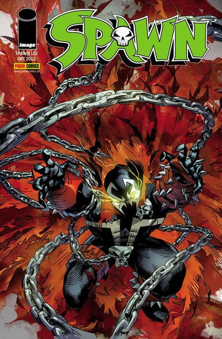 Spawn 102 - Das Cover