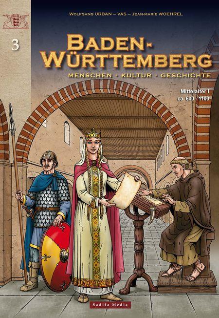 Baden-Württemberg 3: Mittelalter I (ca. 600 - 1100) - Das Cover