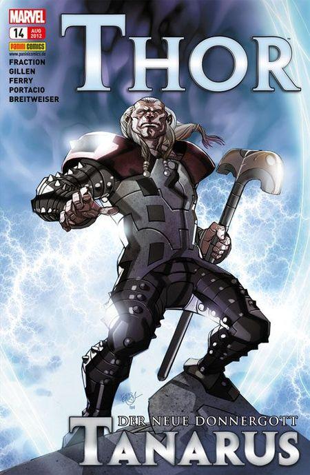 Thor 14: Der mächtige Tanarus - Das Cover