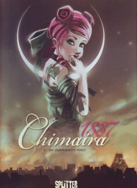 Chimaira 1887 1: Die purpurrote Perle - Das Cover
