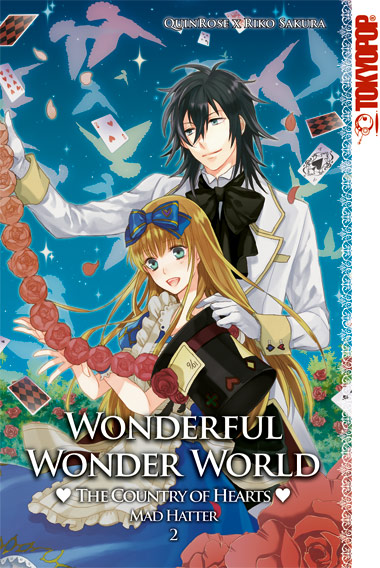 Wonderful Wonder World-Country of Hearts: Mad Hatter 2 - Das Cover