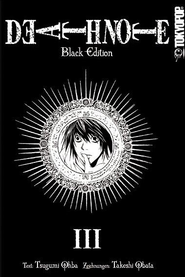 Death Note - Black Edition 3 - Das Cover