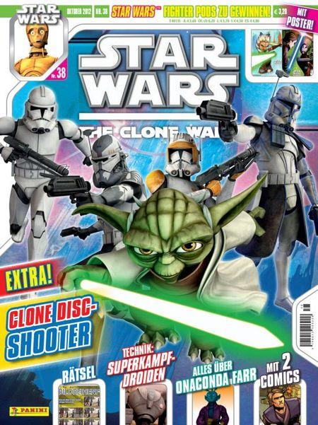 Star Wars: The Clone Wars Magazin 38 - Das Cover