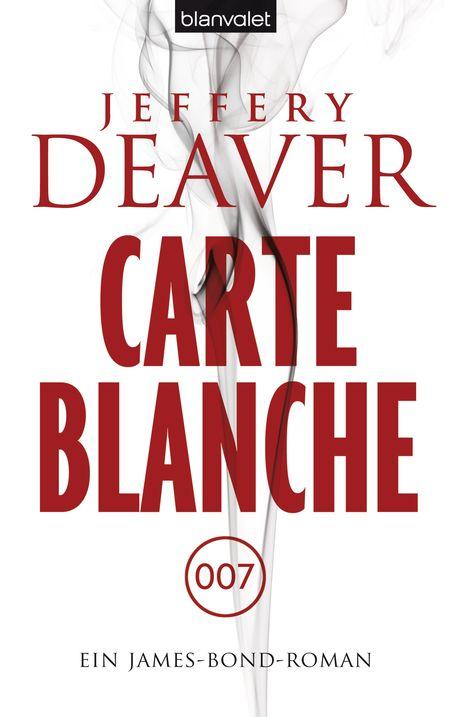 Carte Blanche: Ein James-Bond-Roman - Das Cover