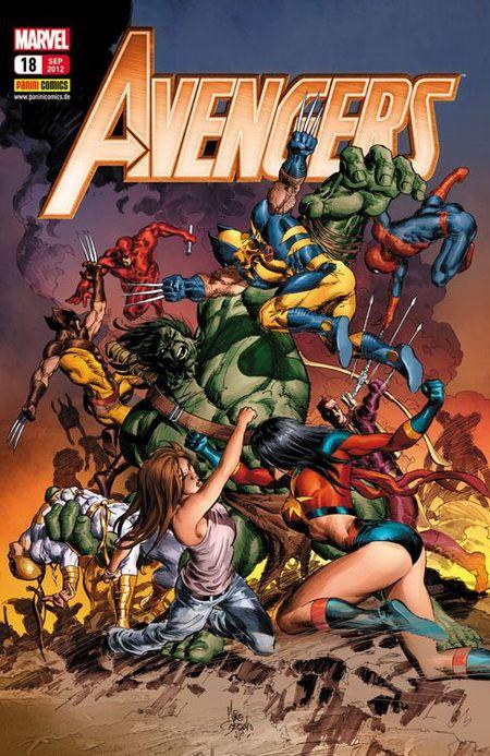 Avengers 18 - Das Cover