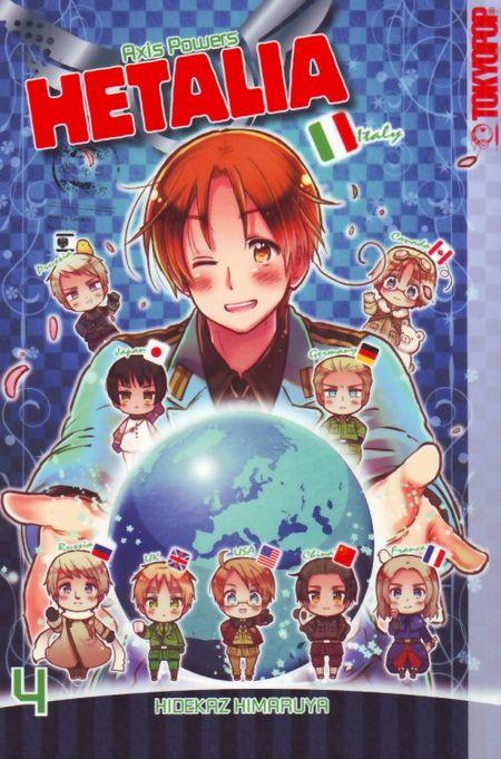 Hetalia - Axis Powers 4 - Das Cover