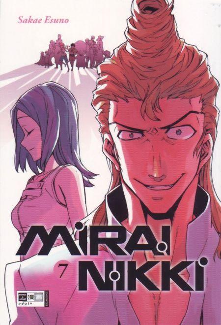 Mirai Nikki 7 - Das Cover