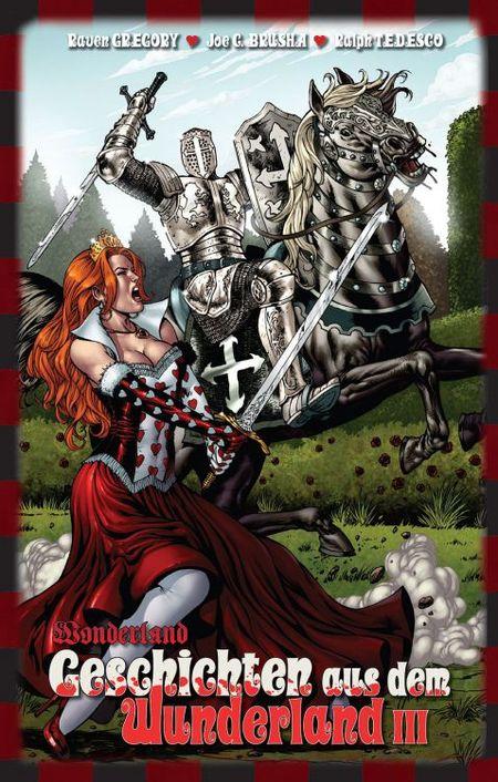 Wonderland 6: Geschichten aus dem Wunderland III - Das Cover