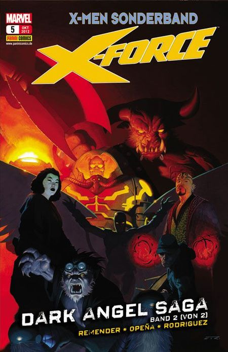 X-Men Sonderband: Die neue X-Force 5: Dark Angel Saga 2 - Das Cover