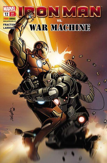 Iron Man 12: Dämon - Das Cover