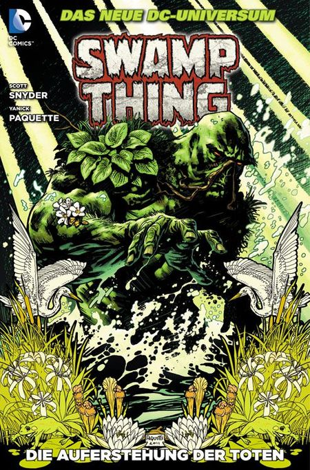 Swamp Thing 1 - Das Cover