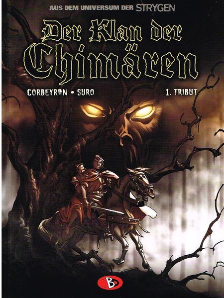 Der Klan der Chimären 1: Tribut - Das Cover