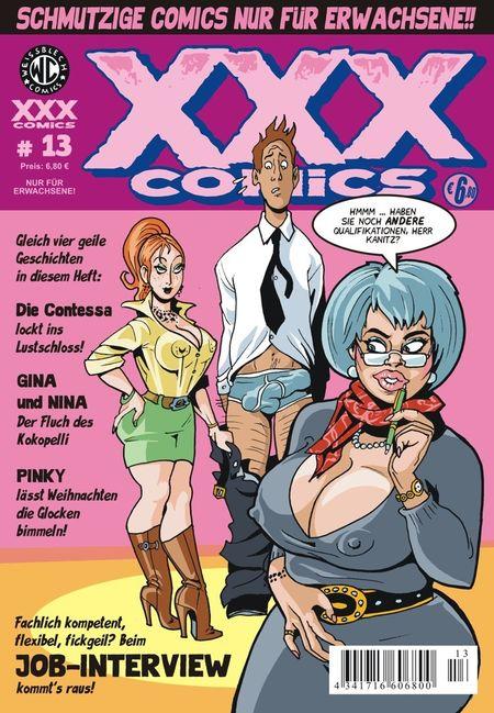 XXX-Comics 13 - Das Cover