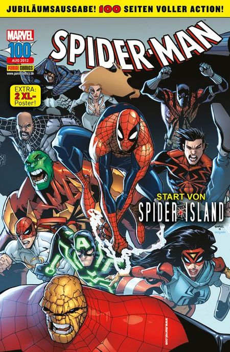 Spider-Man 100 - Das Cover
