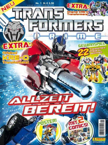 Transformers Prime 1 - Das Cover