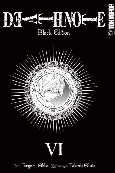 Death Note - Black Edition 6 - Das Cover