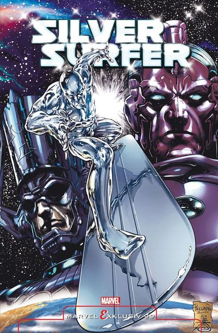 Marvel Exklusiv 99: Silver Surfer-Höheres Leben - Das Cover
