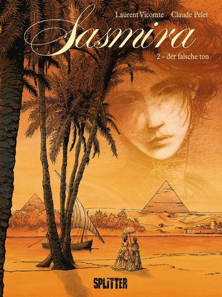 Sasmira 2: Der falsche Ton - Das Cover