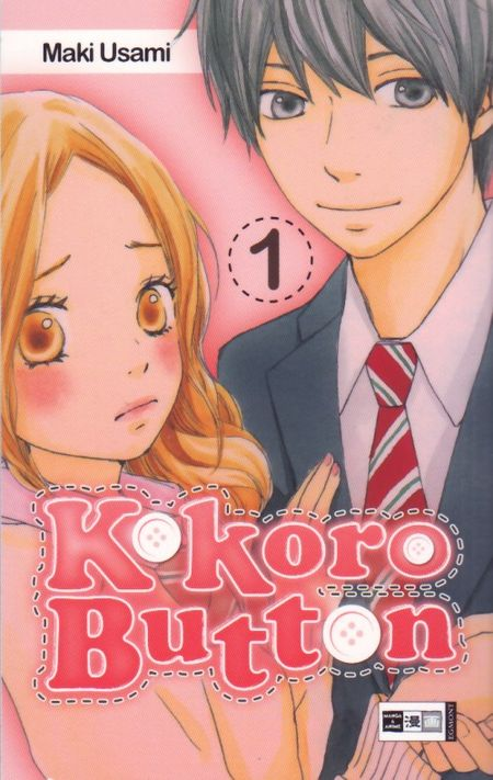 Kokoro Button 1 - Das Cover