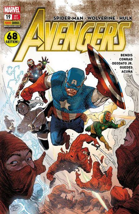 Avengers 19 - Das Cover