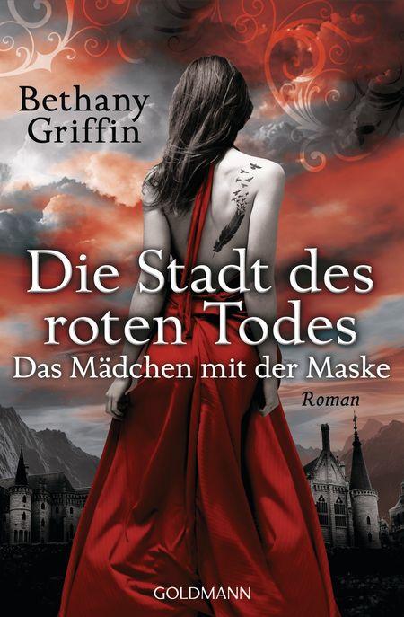 Die Stadt des roten Todes - Das Mädchen mit der Maske - Das Cover