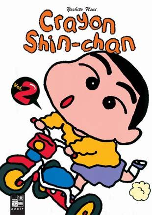 Crayon Shin-chan 2 - Das Cover