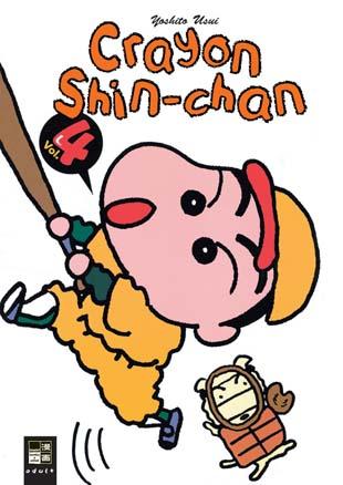 Crayon Shin-chan 4 - Das Cover