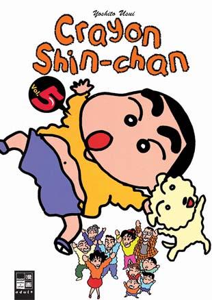 Crayon Shin-chan 5 - Das Cover
