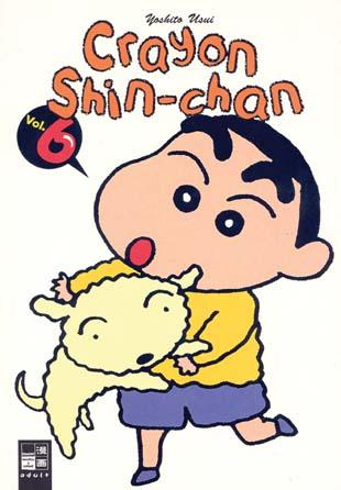 Crayon Shin-chan 6 - Das Cover