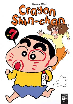 Crayon Shin-chan 7 - Das Cover