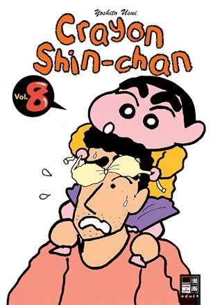 Crayon Shin-chan 8 - Das Cover