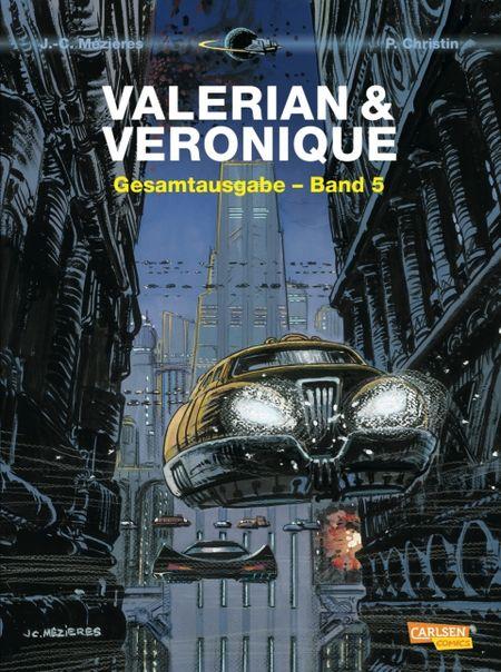 Valerian & Veronique: Gesamtausgabe-Band 5 - Das Cover