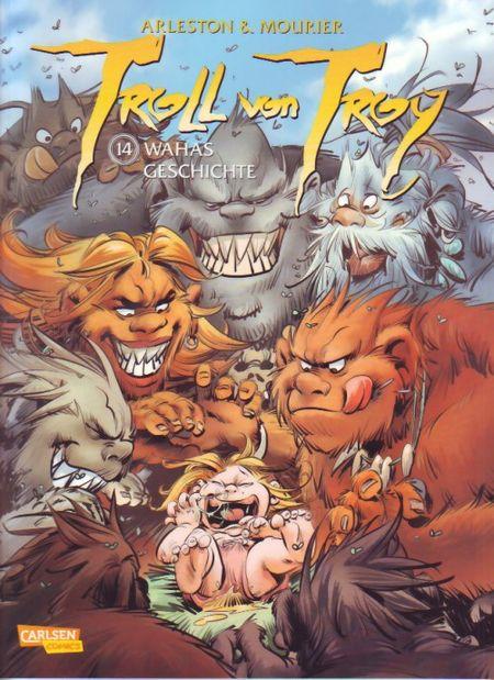 Troll von Troy 14: Wahas Geschichte - Das Cover