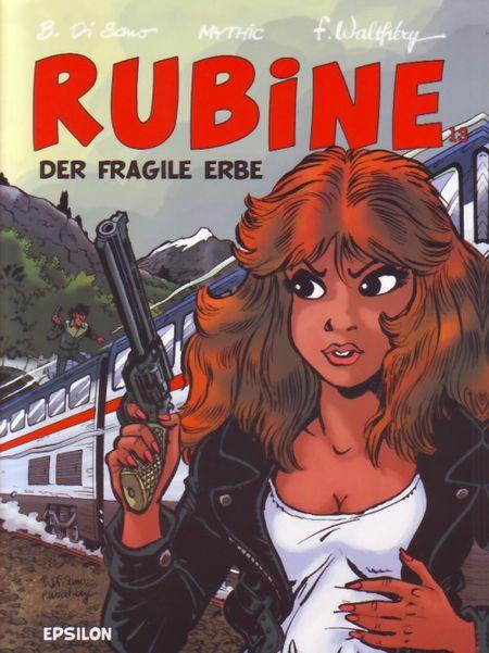 Rubine 13: Der fragile Erbe - Das Cover