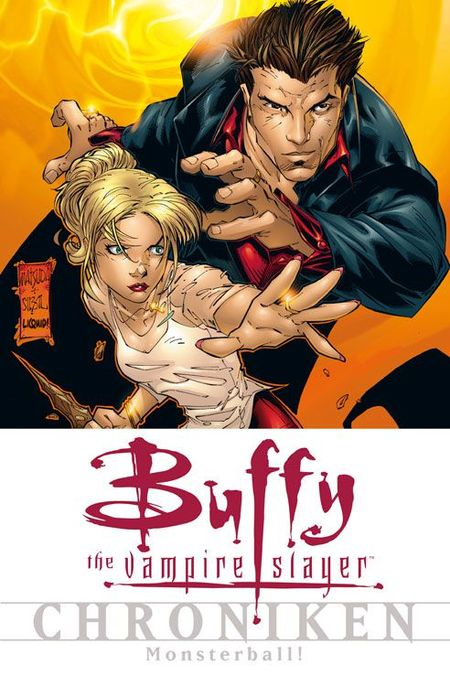 Buffy-The Vampire Slayer-Chroniken 8: Monsterball! - Das Cover