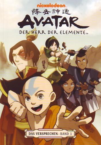 Avatar: Der Herr der Elemente - Das Versprechen: Band 1 - Das Cover