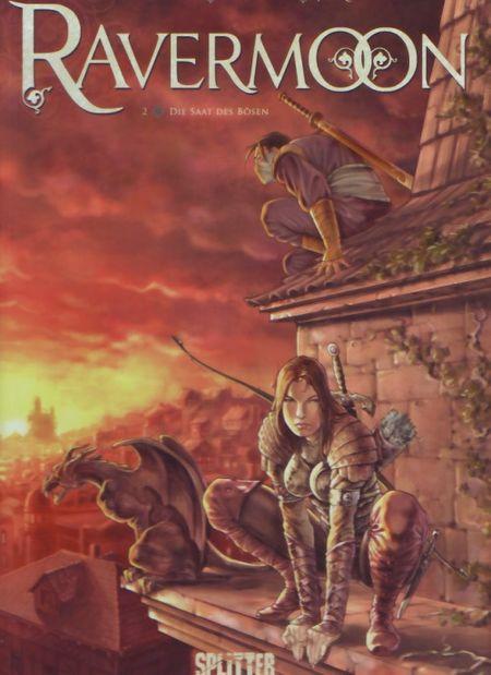 Ravermoon 2: Die Saat des Bösen - Das Cover