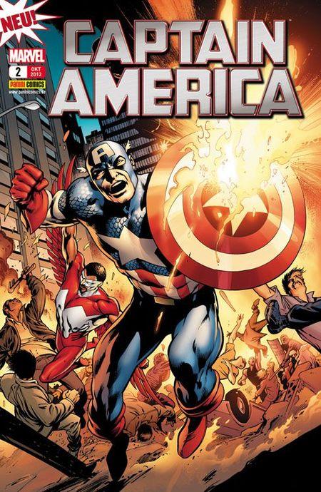 Captain America 2: Hilflos - Das Cover