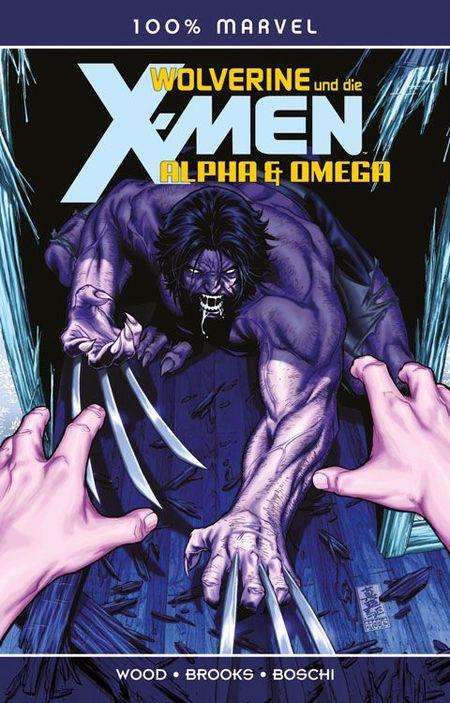100% Marvel 64: Wolverine und die X-Men: Alpha & Omega - Das Cover