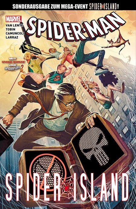 Spider-Man Special: Spider-Island - Das Cover