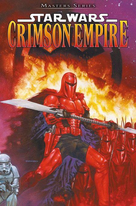 Master Series 3: Star Wars-Crimson Empire - Das Cover