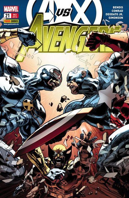 Avengers 21 - Das Cover