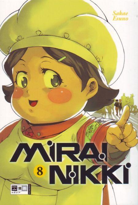 Mirai Nikki 8 - Das Cover