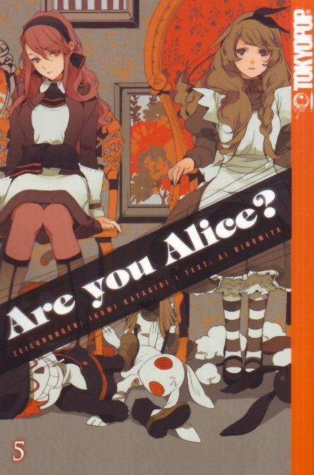 Are you Alice? 5 - Das Cover