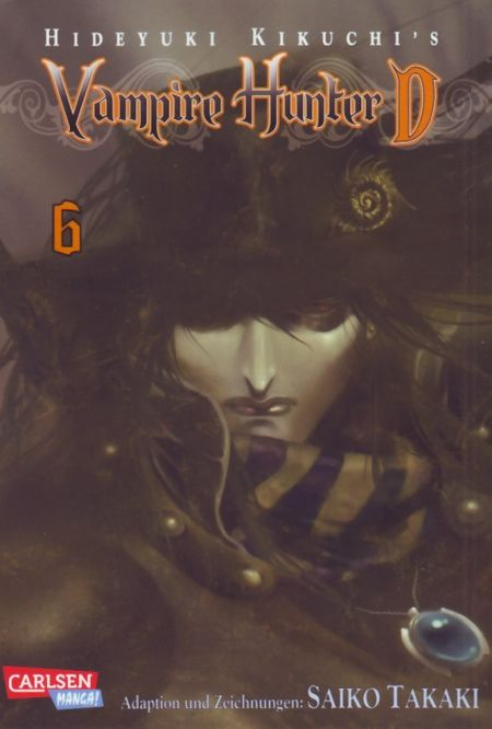 Vampire Hunter D 6 - Das Cover