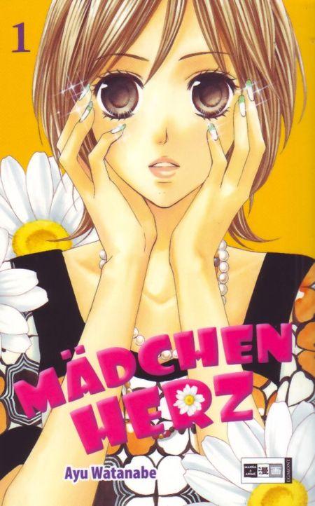 Mädchenherz 1 - Das Cover