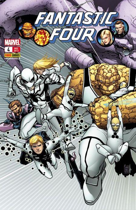 FF - Fantastic Four 4 - Das Cover