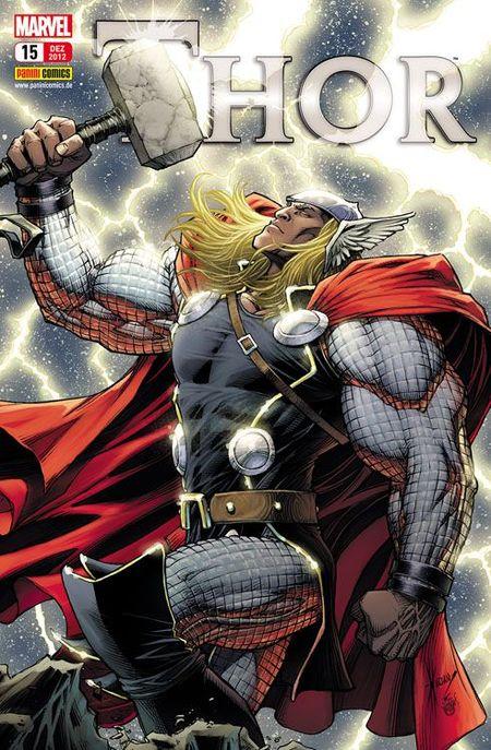 Thor 15: Albträume - Das Cover
