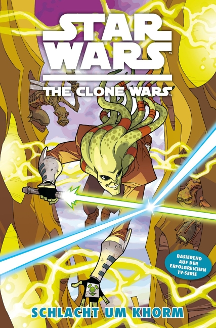 Star Wars: The Clone Wars 6 - Das Cover