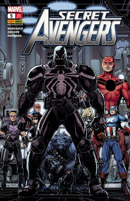 Secret Avengers 5: Die Nachkommen - Das Cover